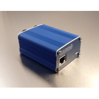 Audio over Ethernet for XLR microphones, AES67 compatible with Power over Ethernet